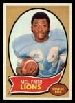 1970 Topps #52   Mel Farr Front Thumbnail