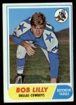 1968 Topps #181  Bob Lilly  Front Thumbnail