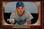 1955 Bowman #66   George Shuba Front Thumbnail