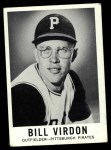 1960 Leaf #40  Bill Virdon  Front Thumbnail