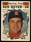 1961 Topps #573  All-Star  -  Ken Boyer Front Thumbnail