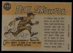 1960 Topps #553  All-Star  -  Bill Skowron Back Thumbnail