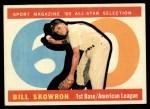 1960 Topps #553  All-Star  -  Bill Skowron Front Thumbnail