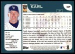 2001 Topps #92   Scott Karl Back Thumbnail