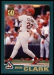 2001 Topps #104  Will Clark  Front Thumbnail