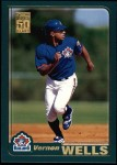 2001 Topps #421   Vernon Wells Front Thumbnail