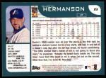 2001 Topps #19   Dustin Hermanson Back Thumbnail