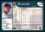 2001 Topps #146   Tom Glavine Back Thumbnail