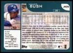 2001 Topps #209   Homer Bush Back Thumbnail