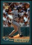 2001 Topps #110   Fred McGriff Front Thumbnail