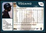 2001 Topps #412  Jose Vizcaino  Back Thumbnail