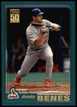 2001 Topps #165  Andy Benes  Front Thumbnail