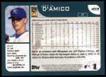 2001 Topps #459  Jeff D'Amico  Back Thumbnail