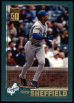 2001 Topps #145  Gary Sheffield  Front Thumbnail