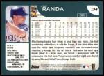 2001 Topps #134  Joe Randa  Back Thumbnail