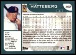 2001 Topps #262   Scott Hatteberg Back Thumbnail