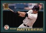 2001 Topps #262   Scott Hatteberg Front Thumbnail