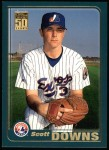 2001 Topps #496  Scott Downs  Front Thumbnail
