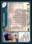 2001 Topps #75  Randy Johnson  Back Thumbnail
