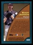2001 Topps #388  Season Highlights  -  Randy Johnson Back Thumbnail