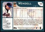 2001 Topps #168  Turk Wendell  Back Thumbnail