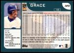 2001 Topps #320   Mark Grace Back Thumbnail