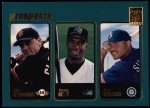 2001 Topps #368  Mike Glendenning / Kenny Kelly / Juan Silvestre  Front Thumbnail