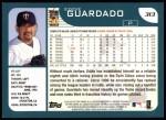 2001 Topps #313  Eddie Guardado  Back Thumbnail