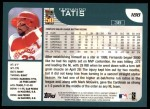 2001 Topps #188   Fernando Tatis Back Thumbnail