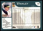 2001 Topps #119   Mike Stanley Back Thumbnail