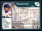 2001 Topps #281  Joe McEwing  Back Thumbnail