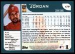 2001 Topps #172  Kevin Jordan  Back Thumbnail