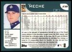 2001 Topps #238  Gil Meche  Back Thumbnail