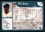2001 Topps #44  Preston Wilson  Back Thumbnail