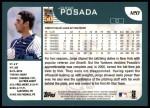 2001 Topps #120  Jorge Posada  Back Thumbnail