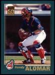 2001 Topps #312   Sandy Alomar Jr. Front Thumbnail