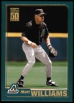 2001 Topps #503   Matt Williams Front Thumbnail
