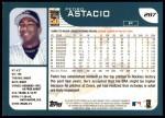 2001 Topps #287   Pedro Astacio Back Thumbnail
