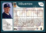 2001 Topps #178   Tyler Houston Back Thumbnail