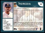 2001 Topps #82  Gil Heredia  Back Thumbnail