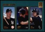 2001 Topps #373  Scott Seabol / Aubrey Huff / Joe Crede  Front Thumbnail