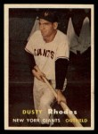 1957 Topps #61  Dusty Rhodes  Front Thumbnail
