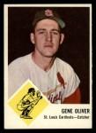 1963 Fleer #62  Gene Oliver  Front Thumbnail