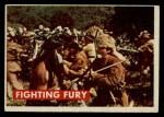 1956 Topps Davy Crockett #16 GRN  Fighting Fury  Front Thumbnail