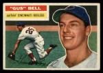 1956 Topps #162  Gus Bell  Front Thumbnail