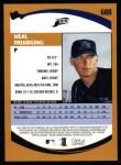 2002 Topps #688  Neal Frendling   Back Thumbnail