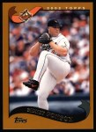 2002 Topps #183   Sidney Ponson Front Thumbnail