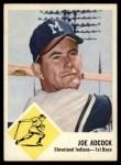 1963 Fleer #46  Joe Adcock  Front Thumbnail