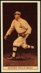 1912 T207 Reprints #10   Chief Bender Front Thumbnail