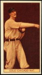 1912 T207 Reprints #31  Leonard Cole  Front Thumbnail